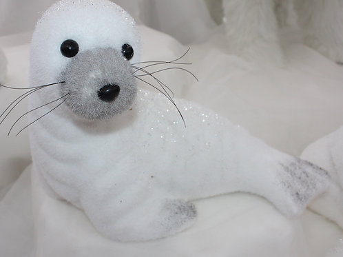 Seal with glitter - large