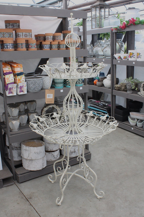 Two-tier Round Plant Stand