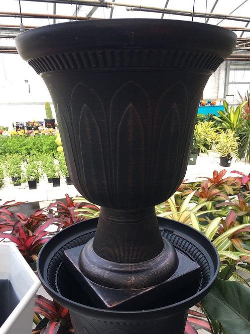 Nirvana urn planter - 15-inch