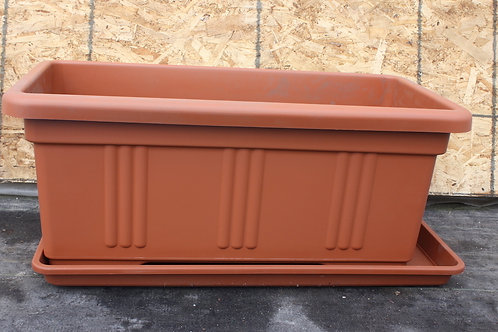 Deck Planter - Under Tray fits 30x14 inch planter