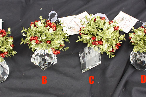 Kissing Krystals Mistletoe Jewels