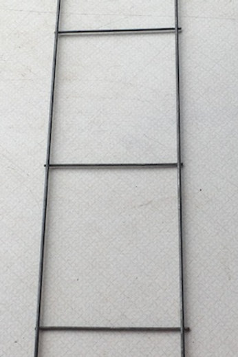 Metal Ladder Trellis - 30-inch