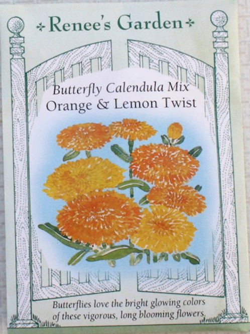 Renee's Garden Calendula - Orange & Lemon Twist