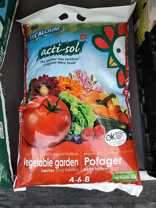 Acti-Sol - Fertilizer for Vegetable Garden