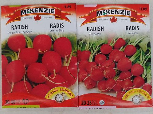 McKenzie Radish Seeds