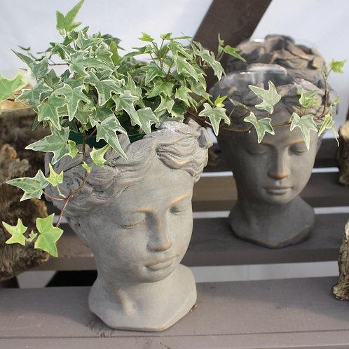 Ceramic Head Pot