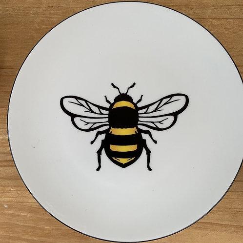 Bee Plate - 8-inch diameter