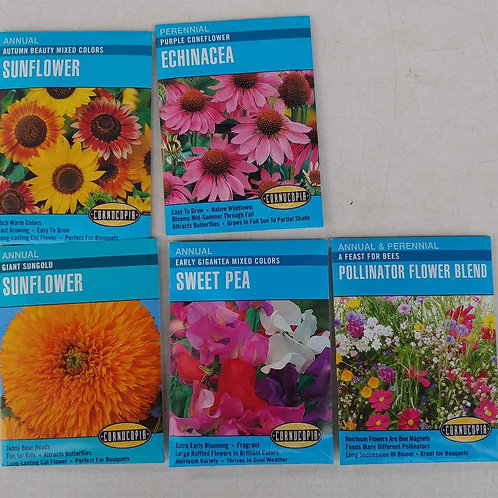 Cornucopia Flower Seeds - Assortment C