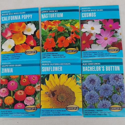 Cornucopia Flower Seeds - Assortment D
