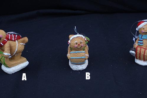 Sledding Gingerbread Men