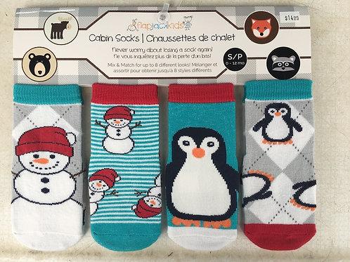 Flapjack Kids Cabin Socks