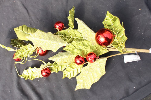 Holly artificial flower