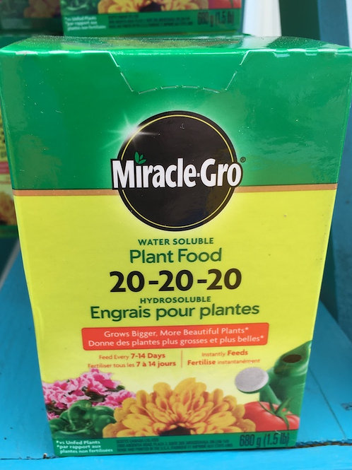 Miracle-Gro® Water Soluble 20-20-20 Plant Food