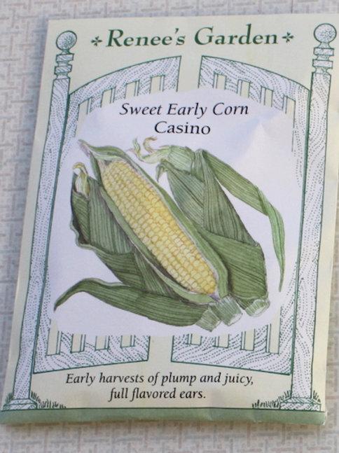 Renee's Garden Corn Seeds