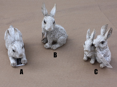 Rabbits - Ceramic