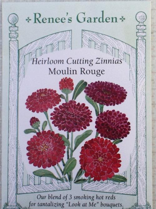 Renee's Garden Zinnia - Moulin Rouge