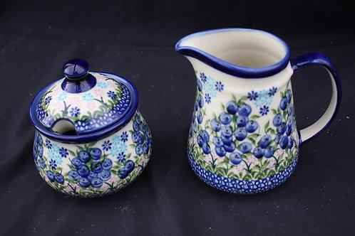 Polish Pottery - Sugar Bowl