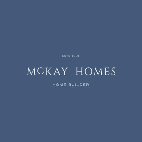 McKay Homes homebuilder logo, freelance graphic design