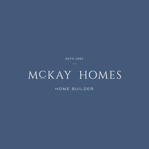 McKay Homes homebuilder logo, freelance graphic design