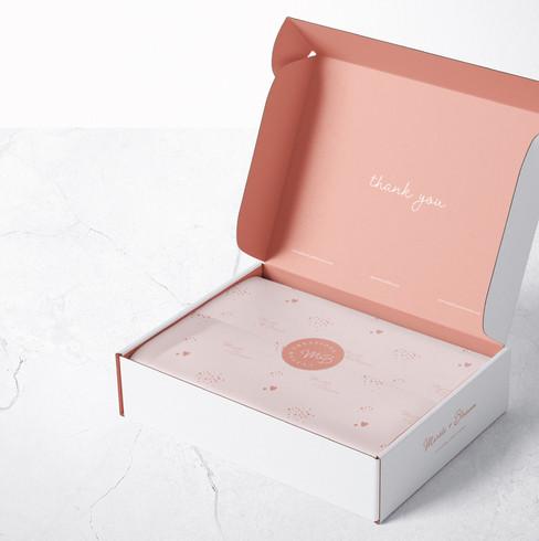 freelance graphic package design, wedding branding
