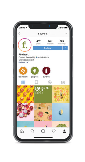 Energy Drink Social Media Instagram Graphic Design