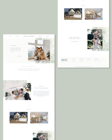 McKay Homes homebuilder website design