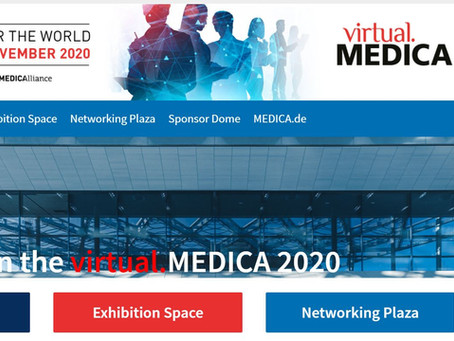 Excel will join Virtual Medica 2020