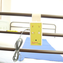 In room alert system with bed sensor