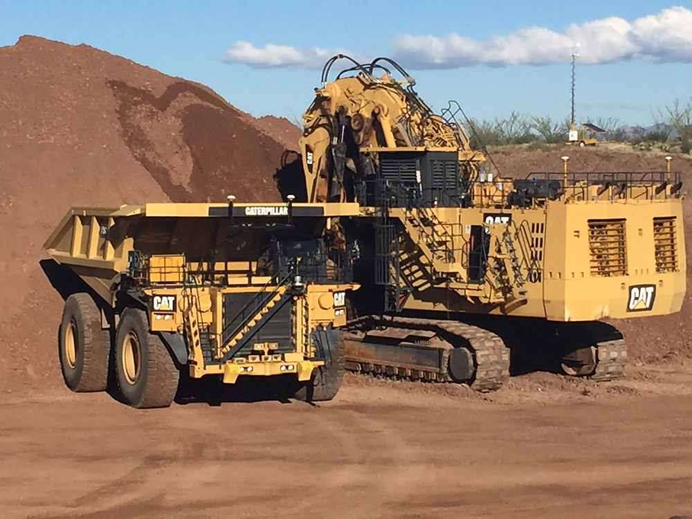 Truck and Shovel running Cat MineStar Command.