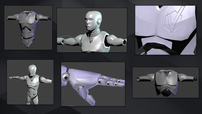 [3D Model] V-bot - Making of