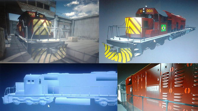 [3D Model] Locomotive - Making Of