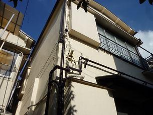 アパート外部塗装後2