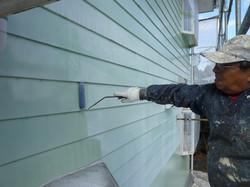 外壁の塗装工程