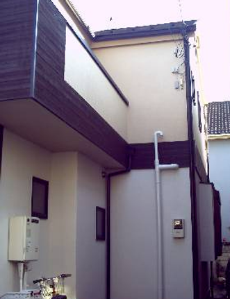 住宅塗装完了後
