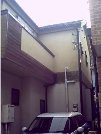 住宅塗装施工前