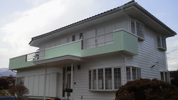 外壁の塗装工程1