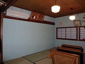 室内壁塗装後