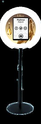 Open Photo Booth Ring light Flashmat