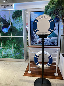 Flashmat Ring Booth Photo Booth for Christian Dior at London Selfridge's