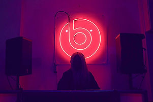 Flashmat Photo booth at HER launch party from Beats By Dre
