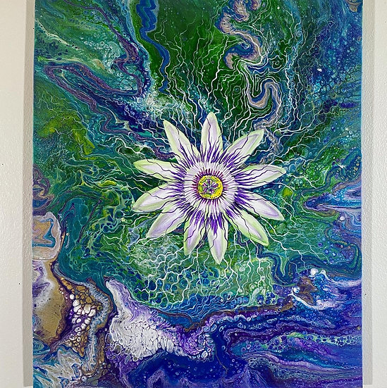 """""""Passion Flower Pour"""""""