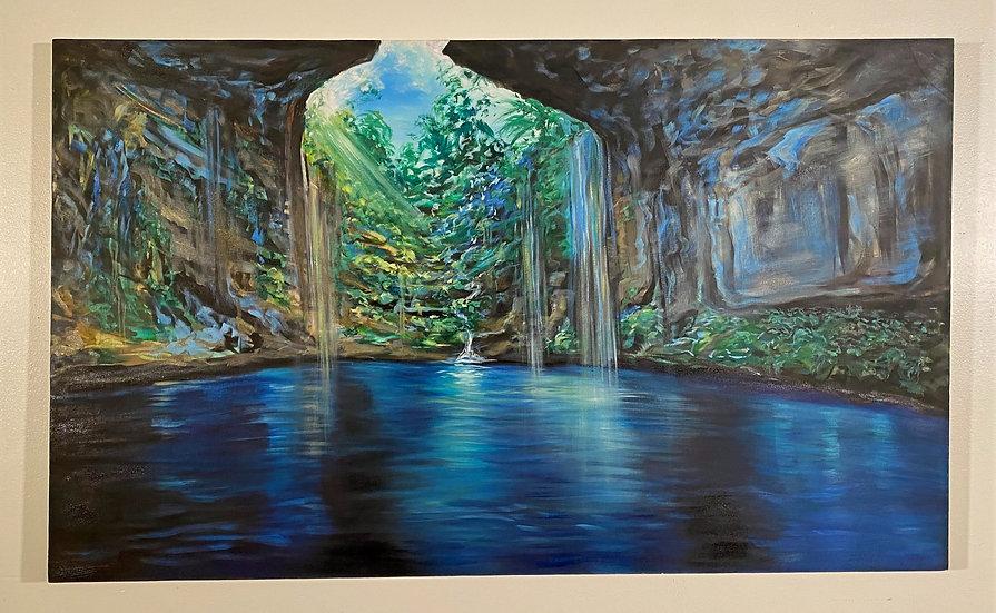 """""""Rainforest Cave Tulum"""""""