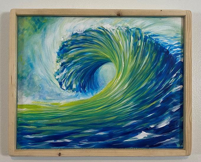 """Blue Green Wave"""