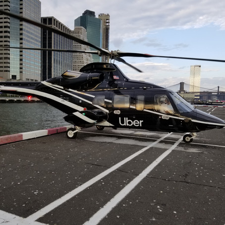 Uber's New Helicopter Service Will Get You From Manhattan to JFK in 8 Minutes...Kind Of