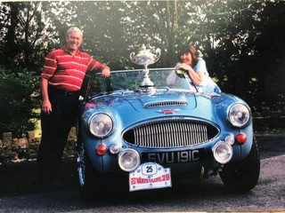 Jean and Alwyn won LAC's Manchester to Blackpool Tour in 2007
