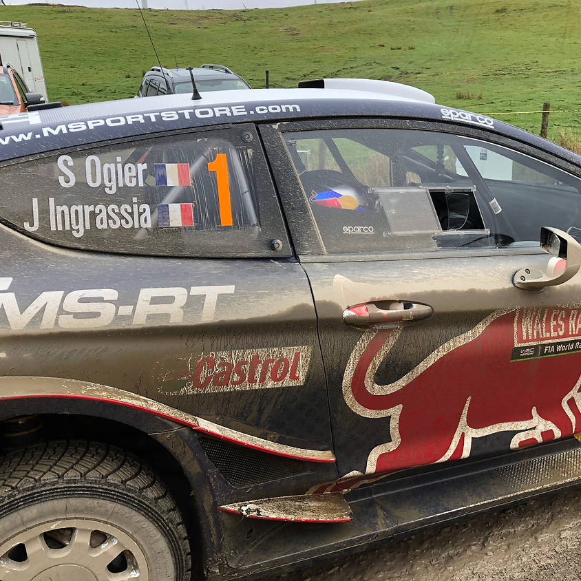 Two Peaks MC is at Rally GB 2019