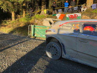 Two Peaks Marshalling on this years WRC Rally GB 2019