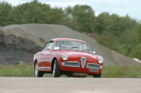 Elvington Aerodrome Track Day York 2012 – Alfa Romeo Guilia 1600 sprint coupe