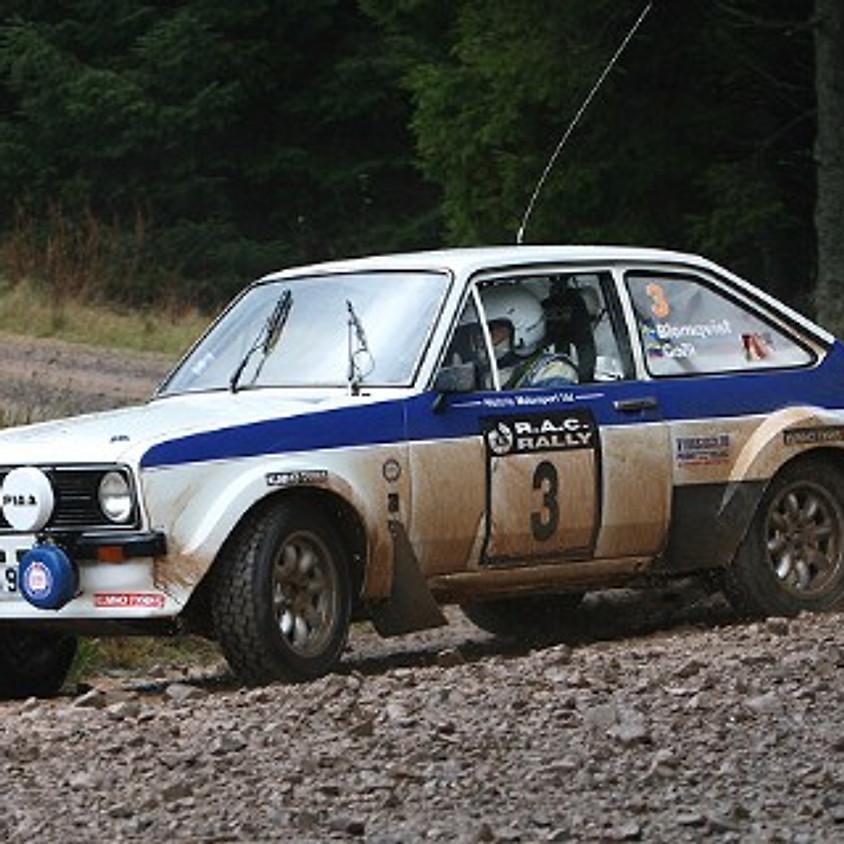 RAC Rally Marshalling - Whitehill & Greskine Stages