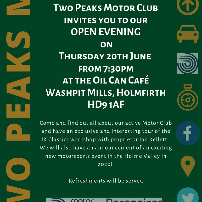 June Club Open Evening!
